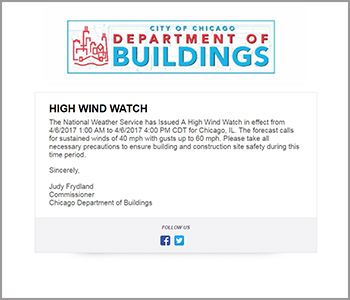High wind watch