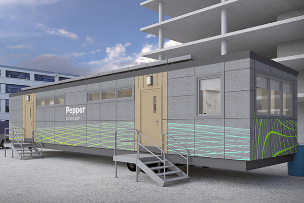 early design of net zero trailer