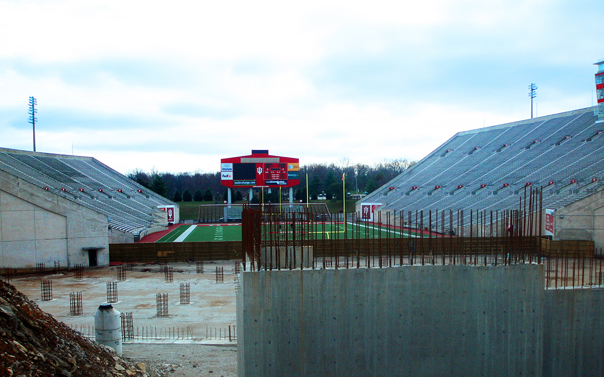 North End Zone stadium seating