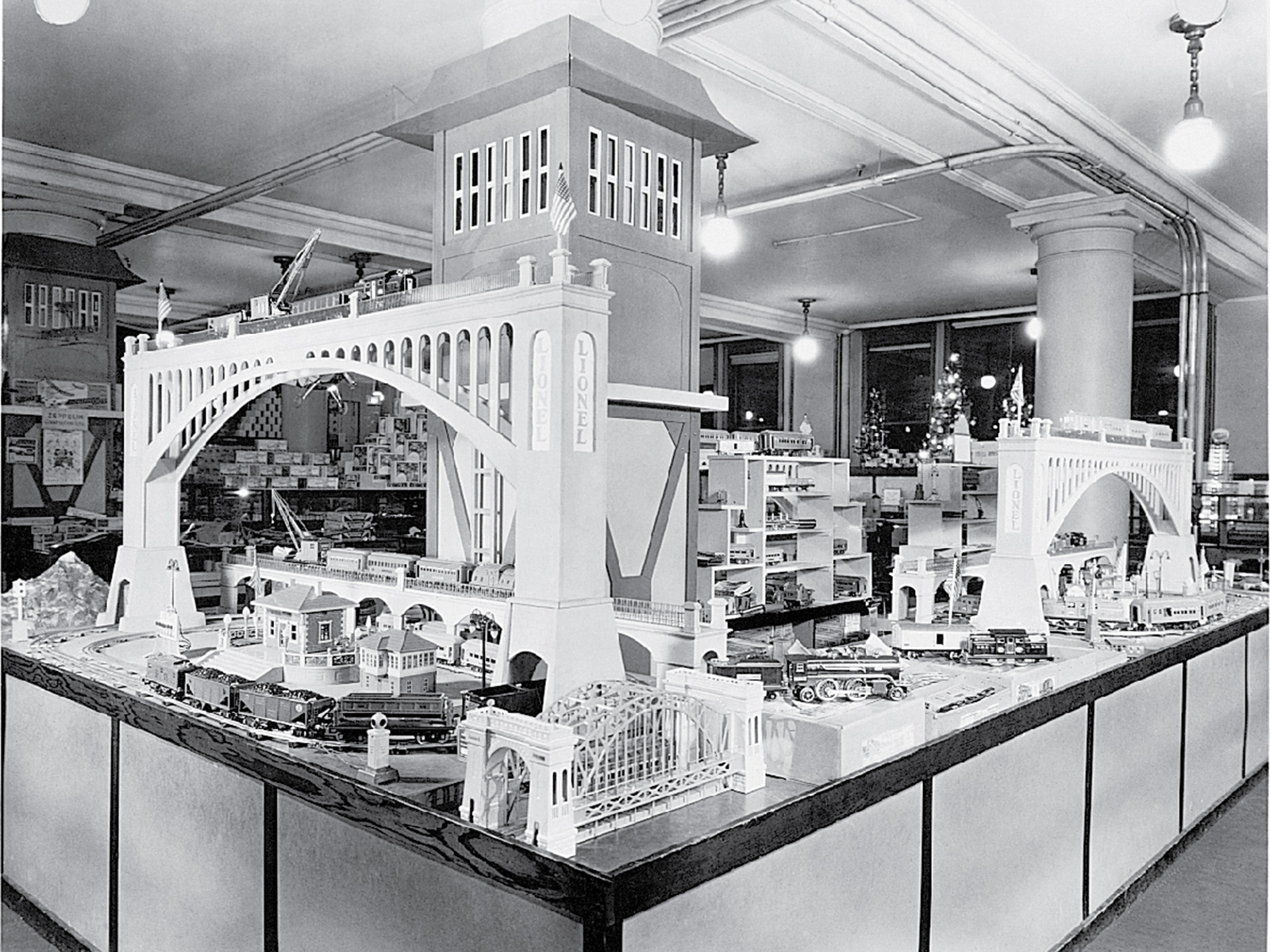 Marshall Fields toy store