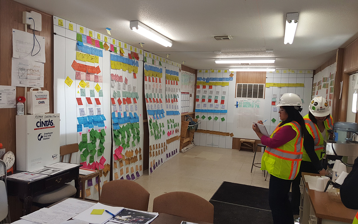 Lean pull planning at North Central College