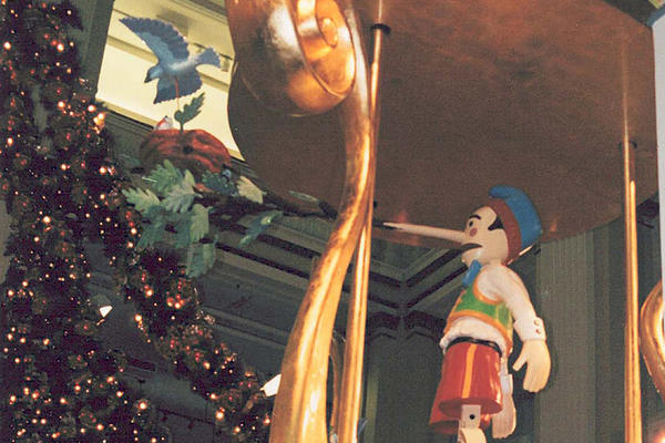 Marshall Fields Pinocchio