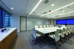 Charles River Associates office interiors built by Pepper