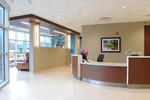 Community South Cancer Center front desk