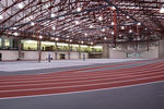 Huff Athletic Center track