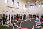 Huff Athletic Center weight room