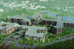 Oak Trace senior living rendering