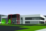 Project Red distribution center rendering