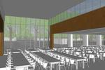 Sycamore Dining Commons dining hall addition interior
