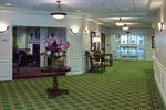 Three Crowns Park retirement community lobby