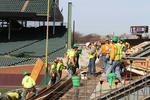 Wrigley Field seating renovation