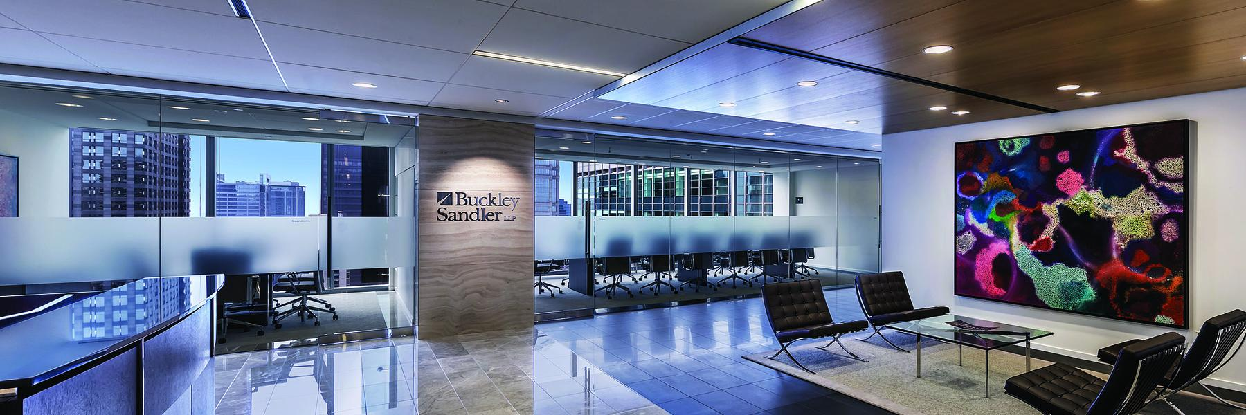Buckley Sandler Chicago lobby