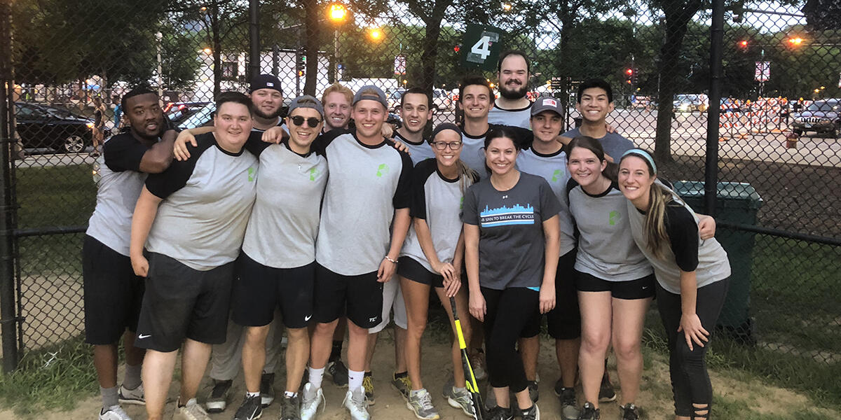 The Pepper Softball Design League Team