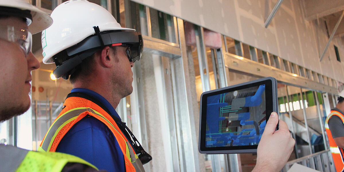 Augmented reality empowers clients to make construction decisions