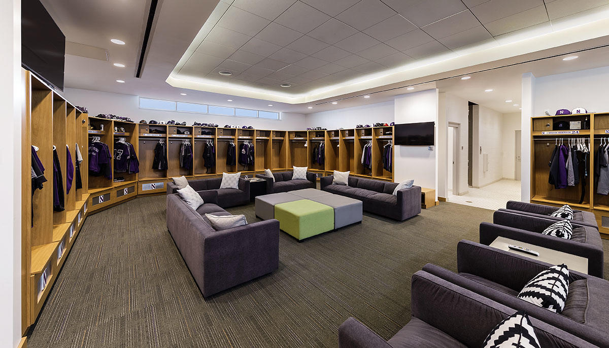 virtual tour photos experience room university bryant in locker reality baseball