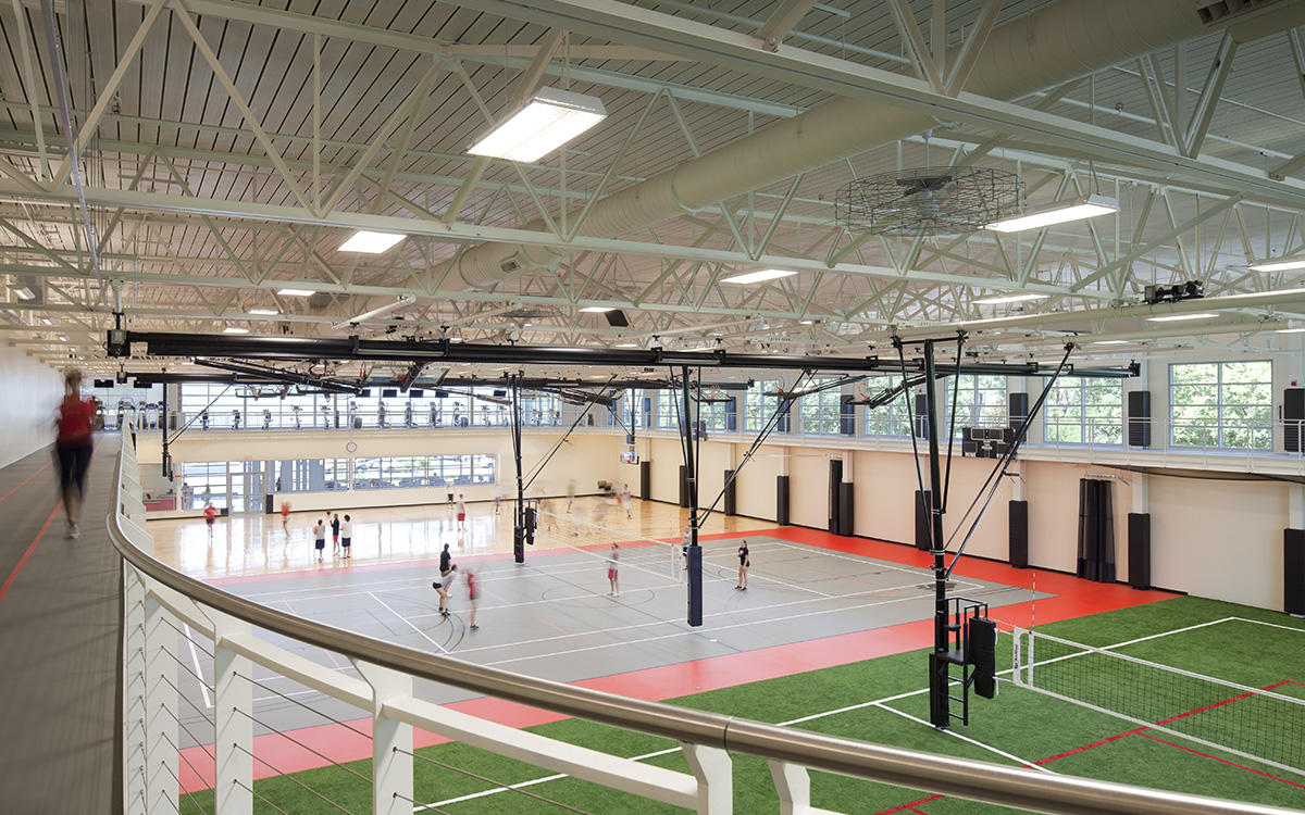 Lake Forest College Sports Recreation Center Pepper Construction