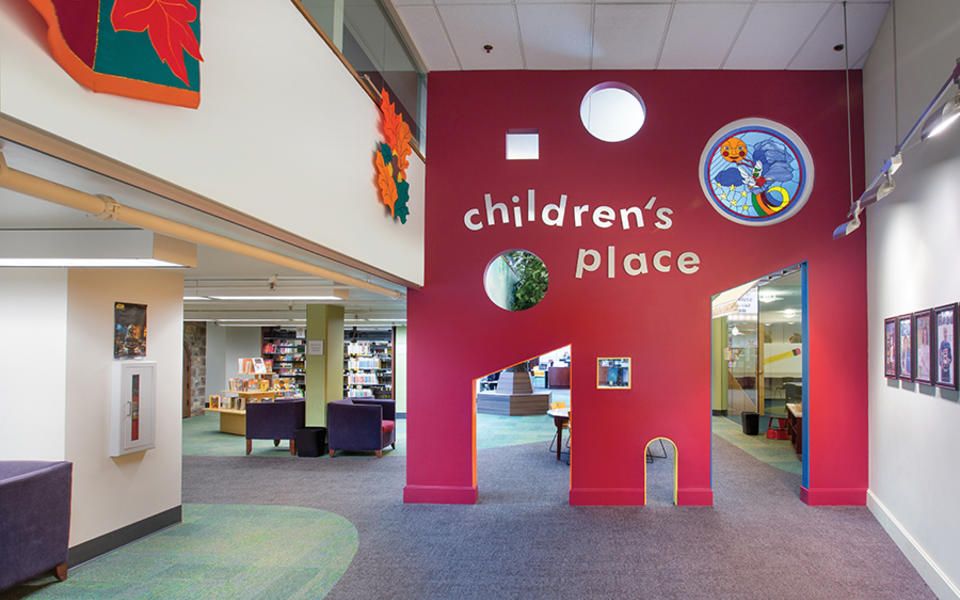 Westerville-Library-Childrens-Area