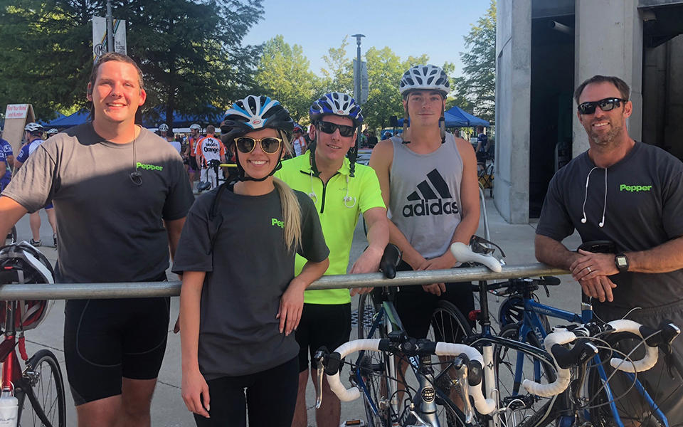 2018 Corporate Challenge_Pepper Cycling