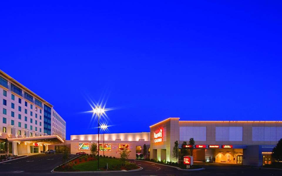 Pepper constructed Harrah's Metropolis Casino and Hotel