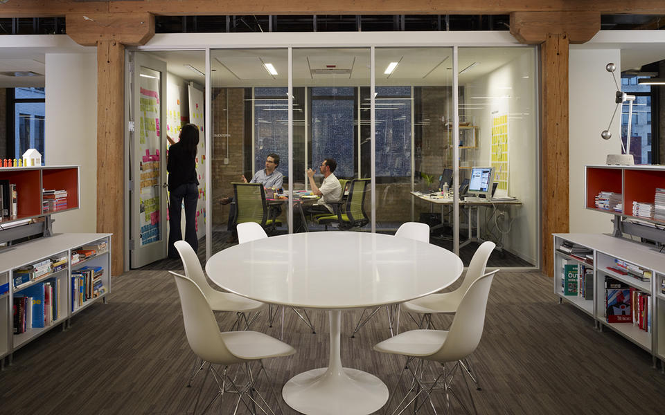 IDEO collaboration space