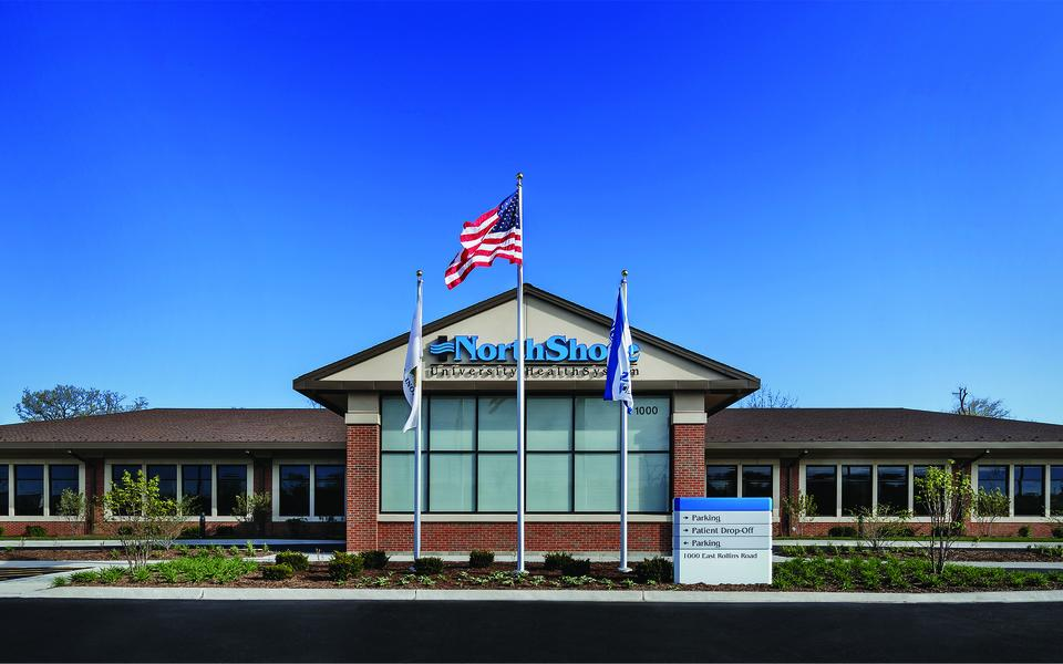NorthShore University HealthSystem Round Lake Beach medical clinics building