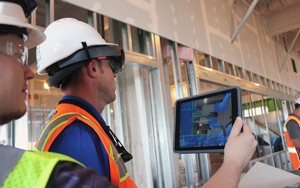 Augmented reality can help with construction