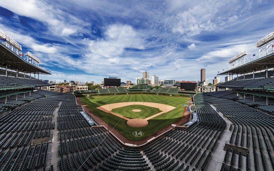 Wrigley Field wide shot